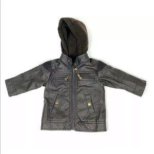Other - Urban Republic Kid Baby Boy  Hooded Flight Jacket